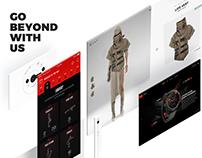 Saturized Website - Concept Redesign