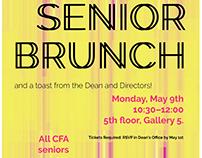 Senior Brunch poster