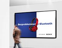 Projekt kampanii reklamowej dla producenta słuchawek
