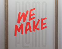 Silk Screen Posters - Plomo71