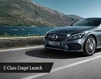 Mercedes-Benz C Class Coupe - Launch Campaign