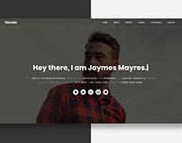 Recuba - Personal Portfolio Website
