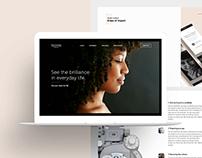 Filutowski Website Redesign