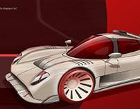 Ultima GTR - Racing car build