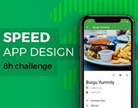 UI/UX. Speed APP Design (just 8h!)