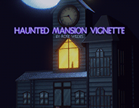 Haunted Mansion Vignette