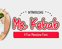 Free Mr Kebab Delicious Script Font