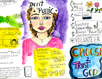 Sketchnotes for New Beginnings Community Church