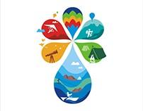 Logo Design for Jal Mahotsav, Madhya Pradesh