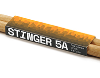 Stinger Drumsticks | Identity and Packaging