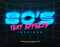80s Text Effects