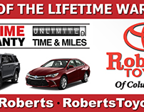 Digital Billboard- Roberts Toyota