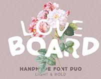 Love Display Font