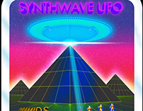 Synthwave UFO PYRAMIDS
