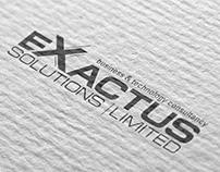 Huisstijl Exactus Solutions Limited