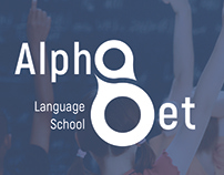 Language School AlphaBet Logo