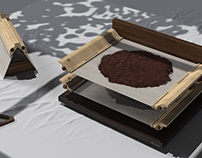 By Itself - Drying Tray and Holder for Coffee Waste