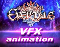 """2D VFX ANIMATION FOR JRPG """"EVERTALE"""""""