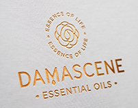 Branding for Damascene Essential Oils