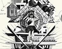 Collage Artwork 193-195