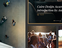 Cairo Design Award Website