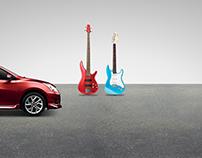 Nissan Tida - Lenticular Banner