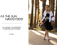 """""""As the sun goes down"""" for CREATION MAG"""