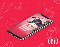 TOKIO sushi & pizza delivery Website