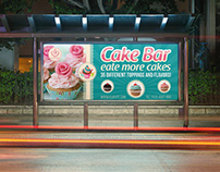 Cake Shop Billboard Template Vol.5