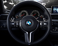 BMW M4 CG Interior