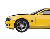 2010 Chevy Camaro Vector