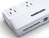 KRIËGER 200W Power Converter