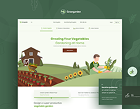 Growgarden - Home Gardening Website Design