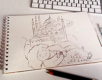 Mosque sketches