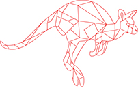 Pen Tool Polygon Animals