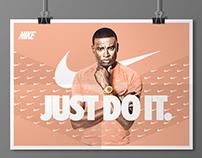 NIKE Poster Design