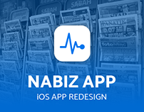 Nabız App - iOS App Redesign
