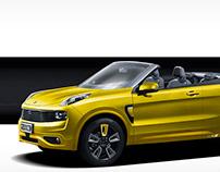 2021 Lynk & Co 01 Cabrio