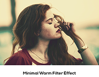 Minimal Warm Filter Effect