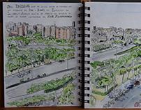Cuaderno de Barcelona / Barcelona Skechbook