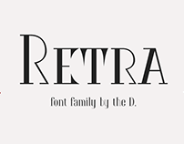 шрифт Ретра | Retra font