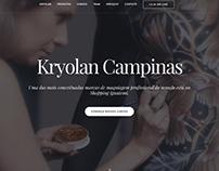Kryolan Campinas - Web Site