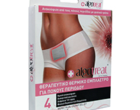 Algotreat Heat Pads for women packaging