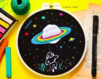 Embroidery | Space