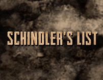 Schindler's List - Title Sequence