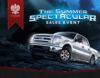 Ford Summer Spectacular - Rich Media Advertisement