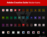 Adobe Creative Suite Vector Icons 🔥DOWNLOAD NOW!🔥