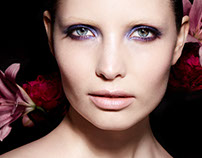 "Beauty Editorial ""Flowerbomb"""