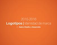 Logotipos | Identidad de marca 2015-2016