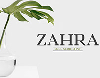 Zahra - Free Serif Font